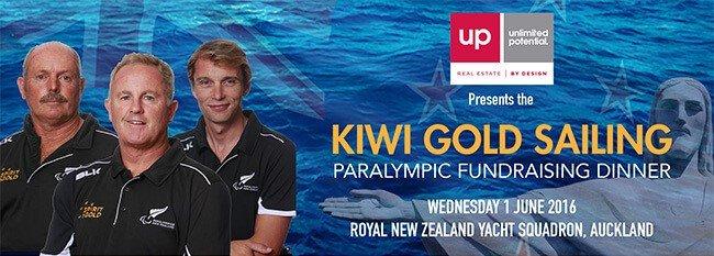Kiwi Gold Sailing Fundraising Dinner : Rio 2016 Paralympics