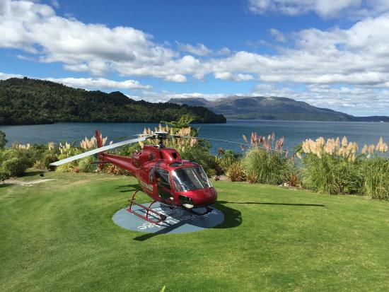 Heli transfers are possible to and from Solitaire Lodge