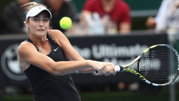 Jade lewis top NZ tennis player