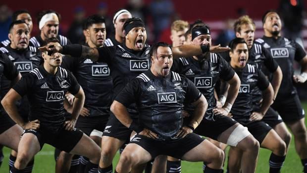 The Māori All Blacks before game